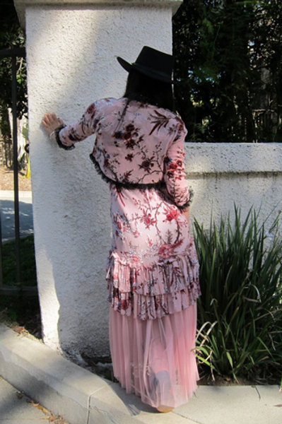 Saloon Dress & Bolero Jacket
