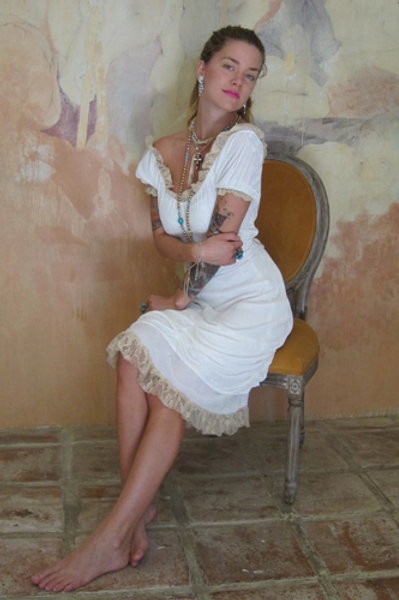 Bustier Dress (Ivory)