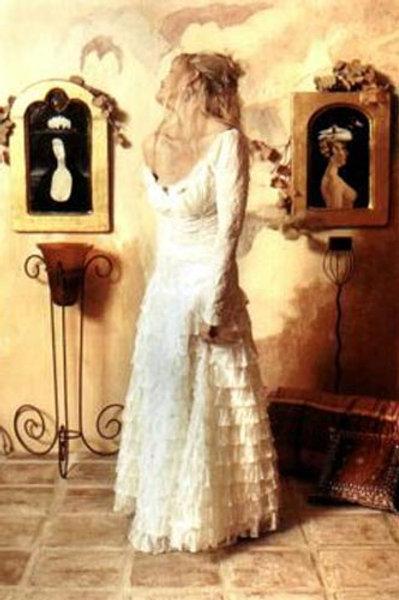 Corset Top Long Sleeve & Flamenco Skirt