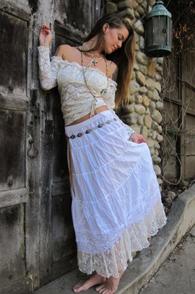 Lace T & Victorian Petticoat