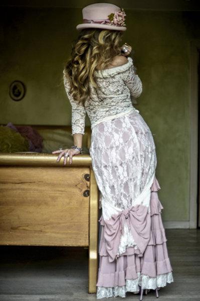 Princess Skirt & Lace Wrap