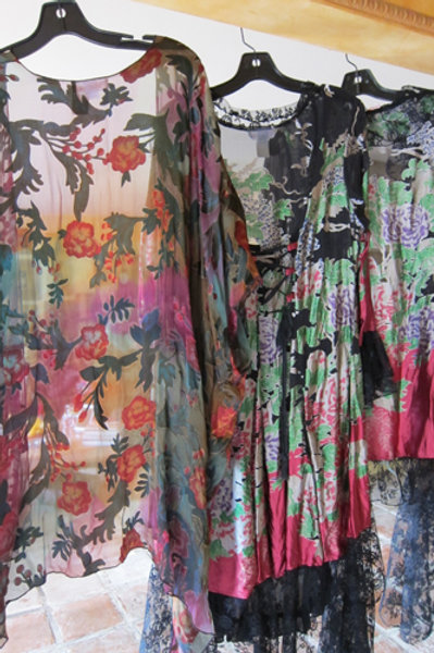 Silk Velvet Jacket & Kimono