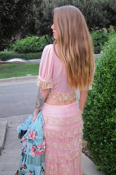 Princess Skirt (Lace Ruffles)