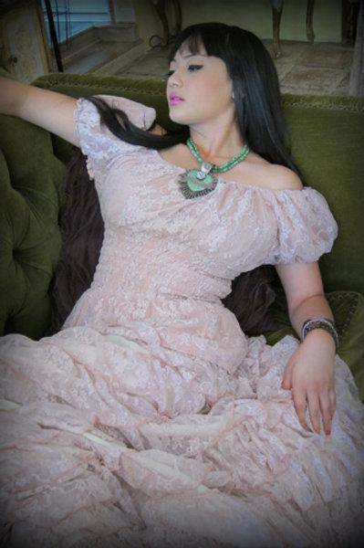Flamenco Skirt & Peasant Puff Top