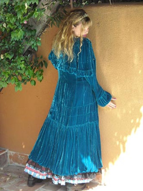 Victorian Western Coat (Turquoise)
