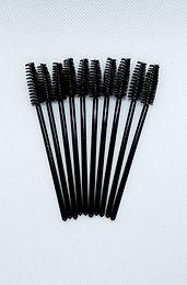 Black Disposable Mascara Brushes - 10 pack