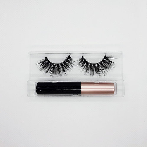 Prom Queen Magnetic Lashes and Eyeliner