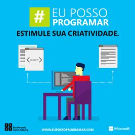 #EuPossoProgramar - Microsoft