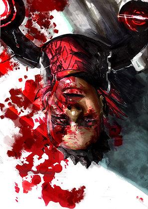 XOGENASYS 9x12 Metal Poster