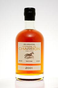 bouteille armagnac millésime 2001 médaille