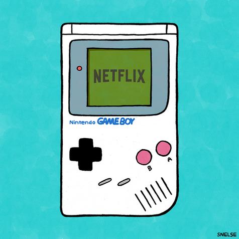 GAMEBOY NETFLIX