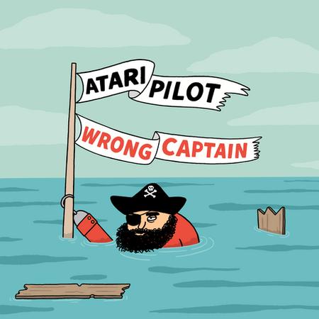 Atari Pilot - Wrong Captain - artwork FI
