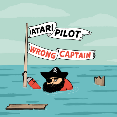 Atari Pilot - Wrong Captain