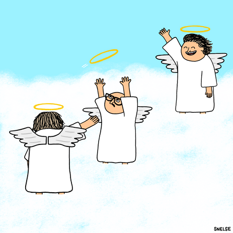 ANGELS PLAYING HALO