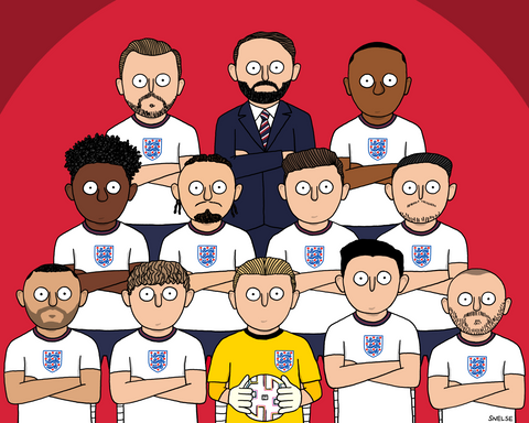 ENGLAND SQUAD - EURO 2020 FINAL