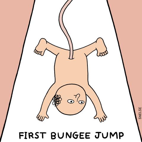 FIRST BUNGEE JUMP