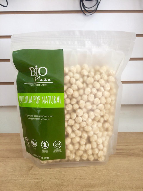 Quinoa pop natural 150 g