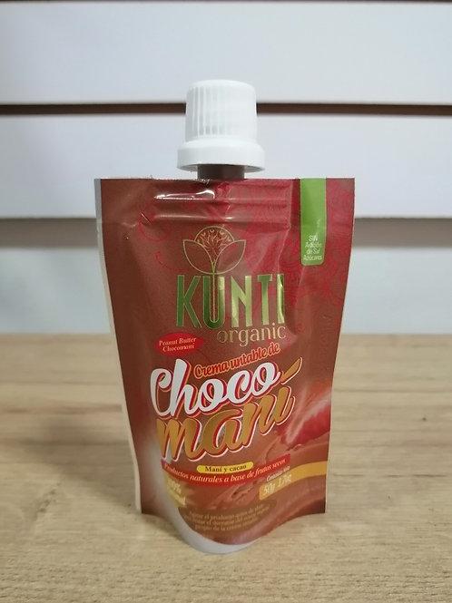 Crema de maní y cacao.
