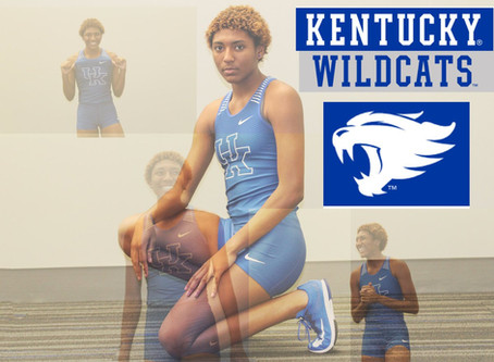 Annika commits to Kentucky Track and Field!