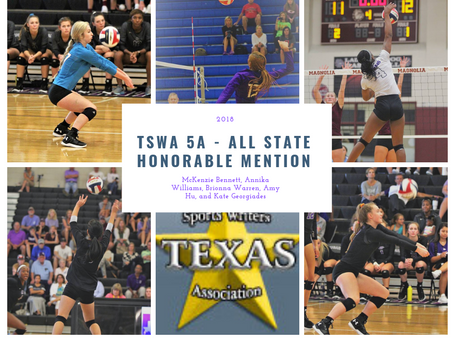 Five Cougars earn TSWA All-State Honorable Mention