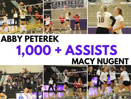 Abby Peterek & Macy Nugent 1000+Assists