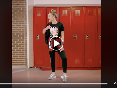 Macy Nugent featured in Adidas ad!