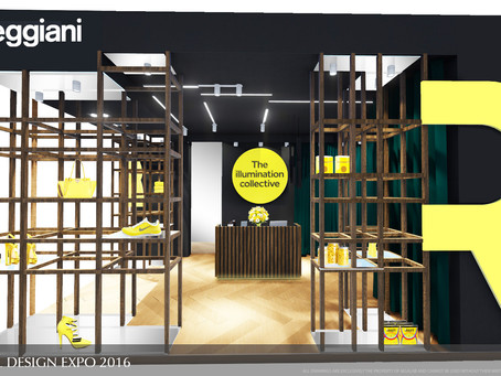 Retail Design Expo 2016 - LONDON OLYMPIA - with REGGIANI srl