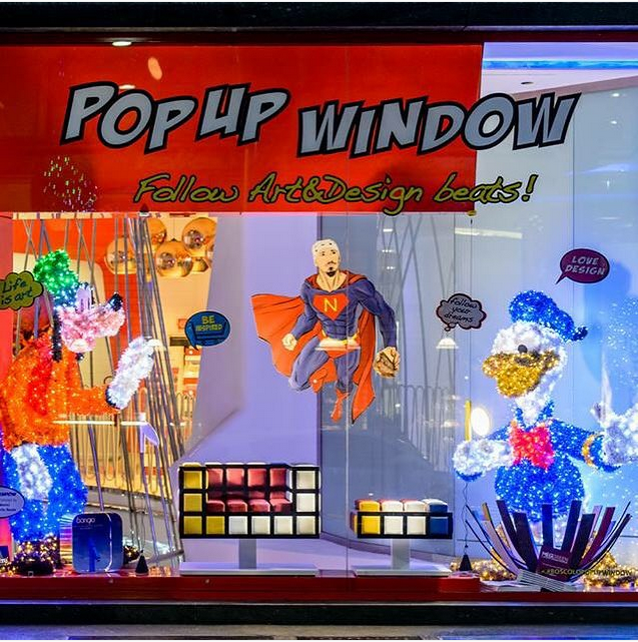 Pop up window