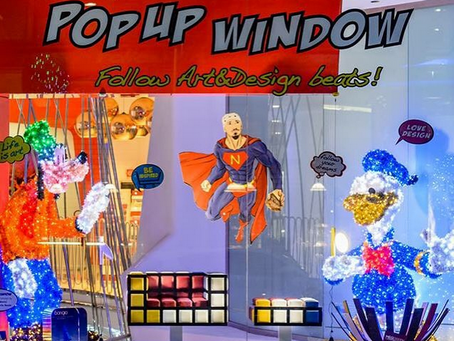 """POP UP WINDOW"" at BOSCOLO HOTEL MILANO - 16 July - 3 September 2015"
