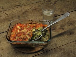 Quinoa-Lauch-Karotten Auflauf