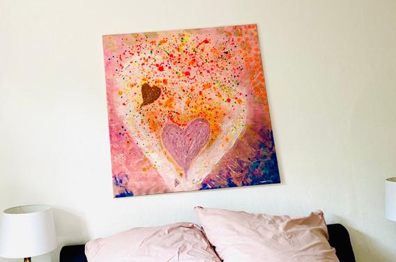 rose golden bedroom