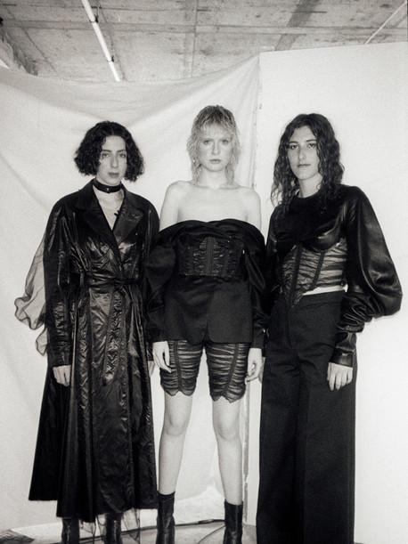 Photographer, Isobel Leach  Models, Claire McCloskey, Aimée Lawson & Emily Farebrother