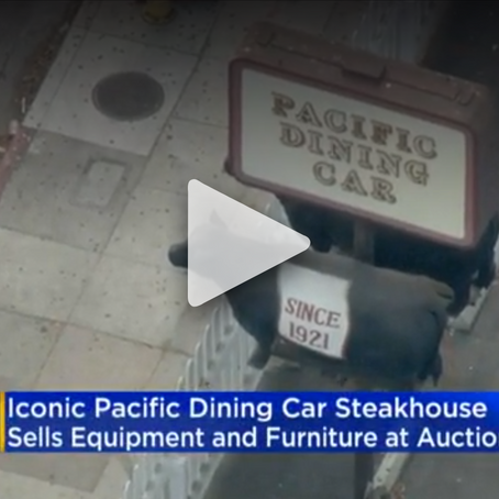 Iconic Pacific Dining Car Selling Off Furniture, Decor In Massive Online Auction