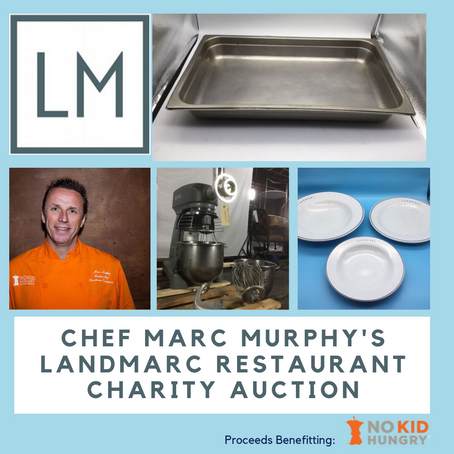 Chef Marc Murphy and Landmarc Liquidate Entire Restaurant in a Charitable Online Auction