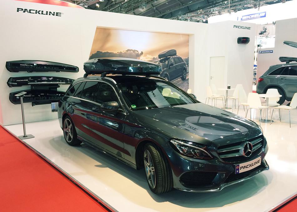 Mercedes C-klasse med Packline NX215_ADM
