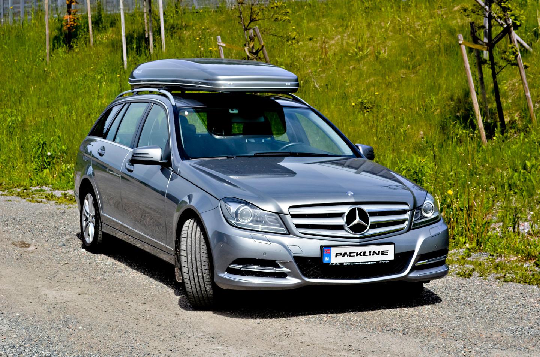 Mercedes C220 med Packline FX-S 2.JPG