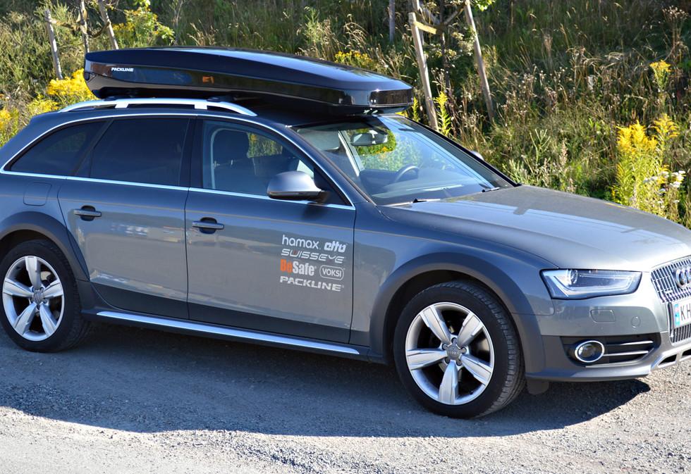 Audi A4 Allroad med Packline NX-Premium