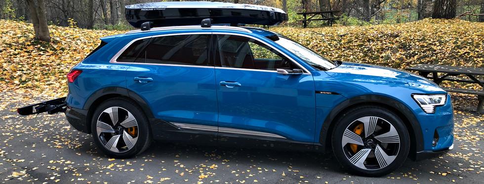 Audi E-Tron med Packline NX-Premium XLT