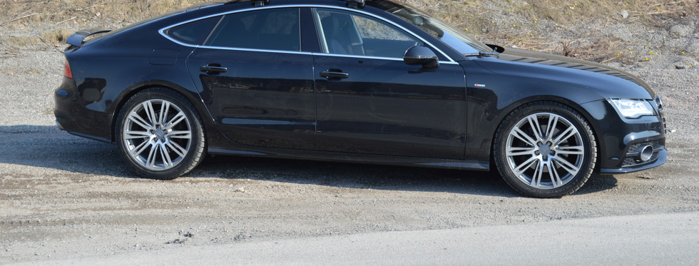 Audi A7 med Packline FX-210 4.JPG
