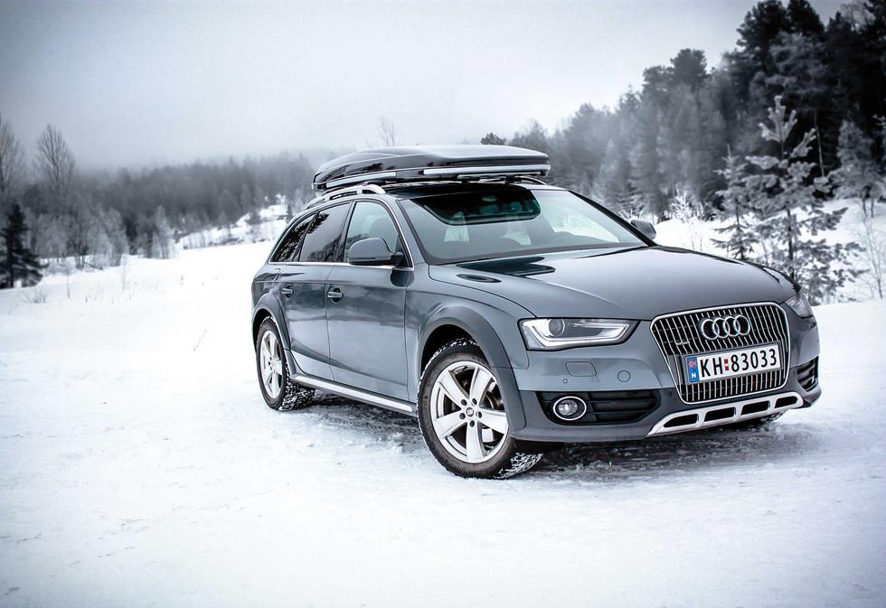 Audi A4 Allroad med Packline FX-Offroad.
