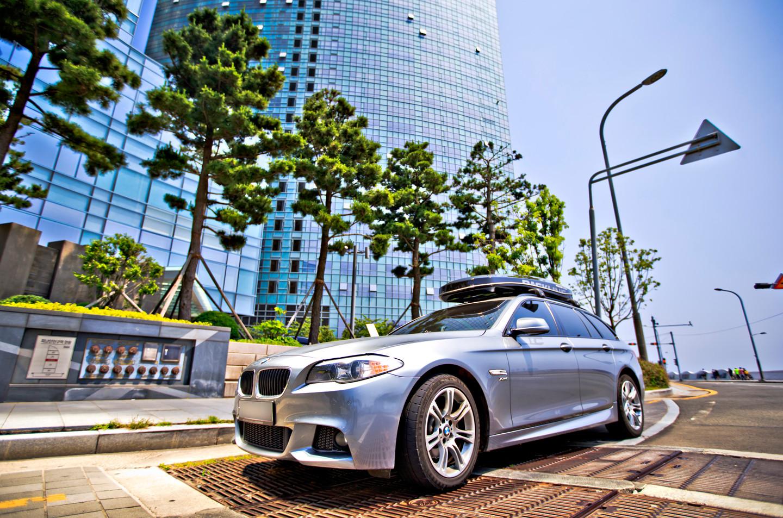 BMW525d 루프박스nx프리미엄 툴레윙바 (2).jpg