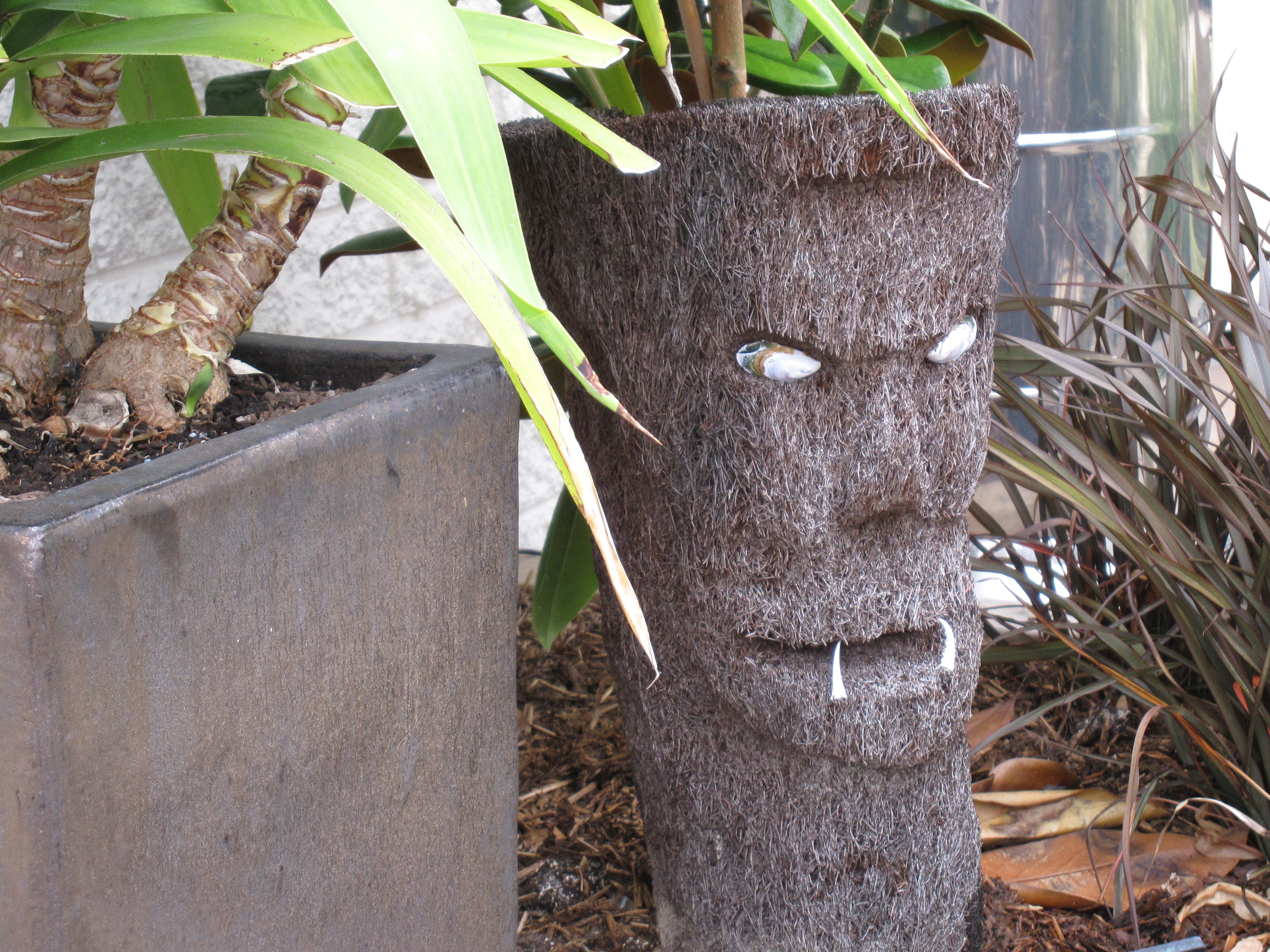 Punga sculpture