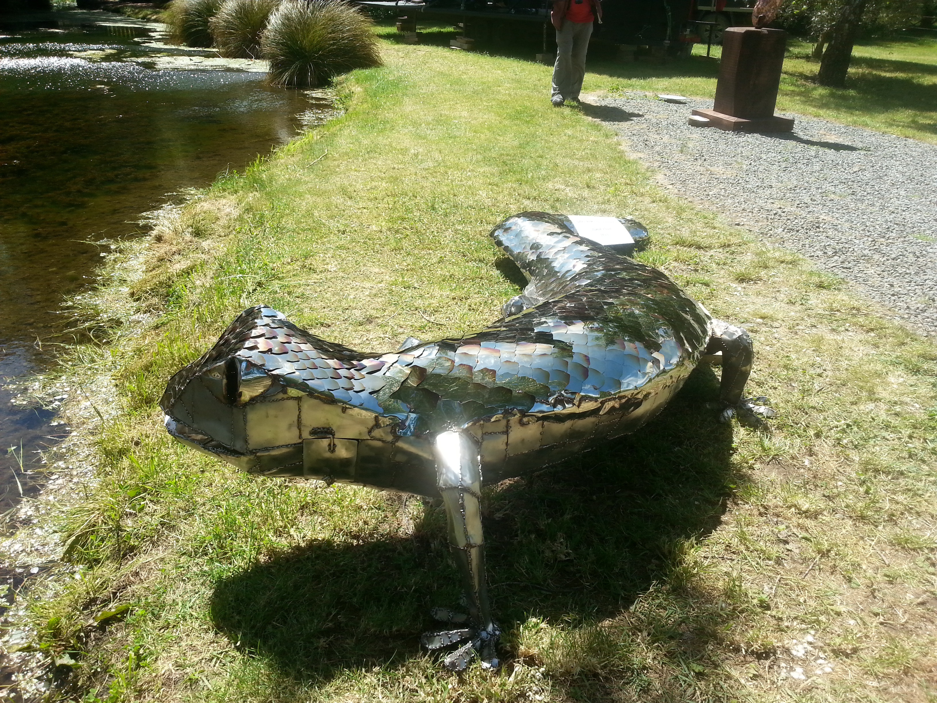 Alligator Sculpture