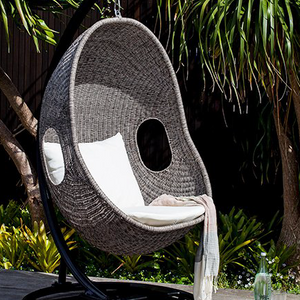 Egg chair, hanging