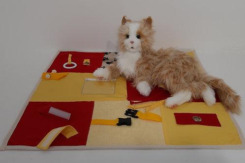 Kombi Nesteldecke + Katze(Robotertier)