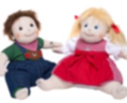 Trachtenpärchen Heike und Peter
