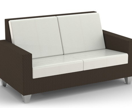 Wicker S10 Loveseat