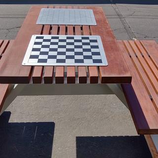ALPINE REC CENTER GAME TABLE