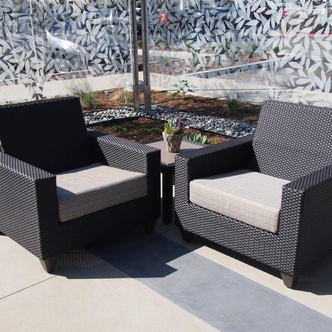 Wicker S10 Lounge Seat