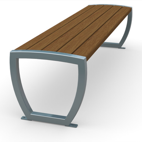 Element Backless Bench